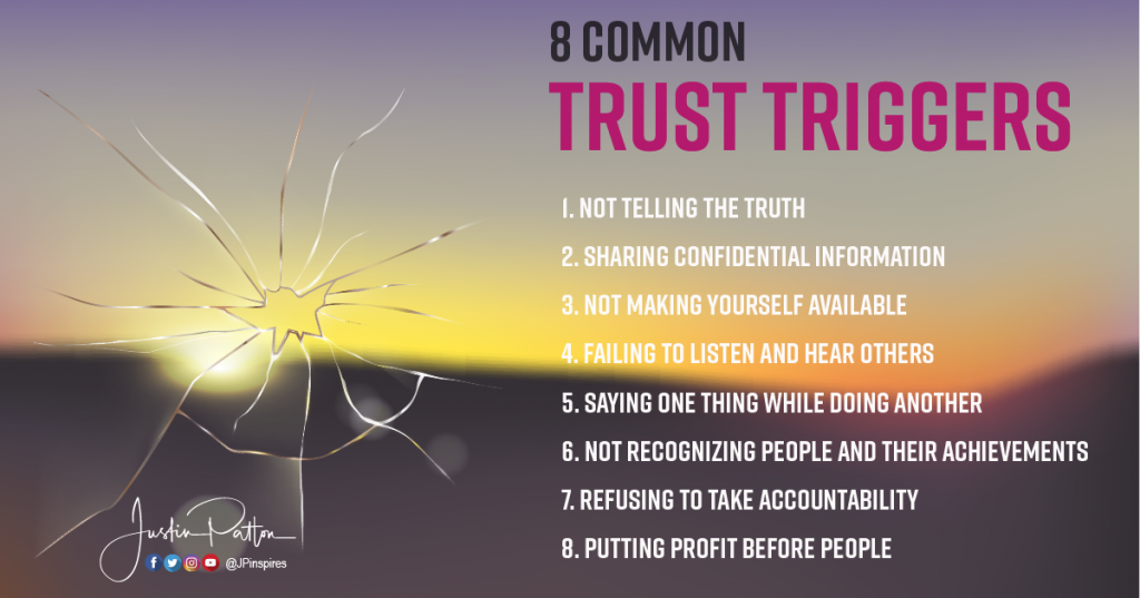 8 common trust mistakes and earning trust back